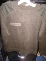 French Military Wool Sweater (green)