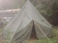 U.S. Military Lightweight Hexagonal Tent with Liner
