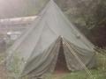 U.S. Military Lightweight Hexagonal Tent with Liner
