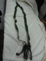 German Military Leather Button Suspenders