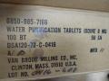 U.S. Military Vietnam Era Water Purification Tablets