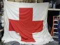 Swiss Army Red Cross Flag (13′ x 13′)