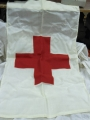 U.S. Military Red Cross Identification Flag (Vietnam Era)