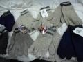 Pugs Gear Rag Wool Striped Glove