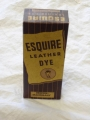 Vintage WWII Esquire Leather Dye (brown mahogany)