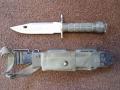 U.S. Military M9 Phrobis III Bayonet with Scabard