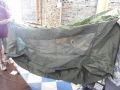 U.S. Army Olive Drab Jungle Hammock with Mosquito Net