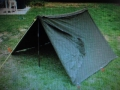 U.S. Military Shelter Half Tent (canvas)