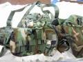 U.S. Military Rack Load Bearing Vest (MOLLE II)