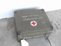 Swedish Army Hospital Supply Box with Supplies