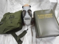 U.S. Military M9A1 Gas Mask (new in tin)