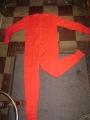 Red Union Suits - Cotton