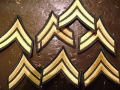 U.S. Army E4 Corporal Rank (Dress Greens)