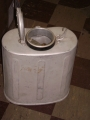 Italian Military Aluminum Cooler with Wool Cover