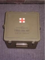 U.S. Military First Aid Kit Container (empty)