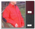 Mens Long Tail Button Shirt - Red