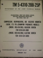 Gasoline Compressor Technical Manual