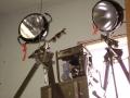 Swiss Military Spotlight with Generator