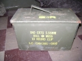 U.S. Military .50 Cal Ammo Can