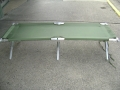 G.I. Issue Aluminum Cot - New