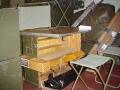 West German Field Officers Desk Set - Truck Freight Only