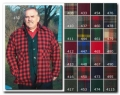 Mens Double Cape Wool Jac Shirt