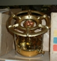 New Czech Solid Brass Camp Stove - Pressurized Liquid Fuel