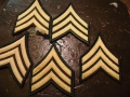 U.S. Army E5 Sergeant Rank (Dress Greens)