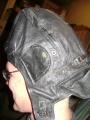 Swedish Military Leather Tanker's Helmet