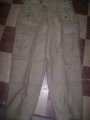 German Military Wool Cargo Pants