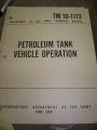 Petroleum Tank Vehicle Operation Manual