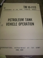 Petroleum Tank Vehicle Operation Manual