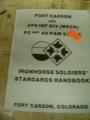 Fort Carson and 4th INF DIV (MECH) FC and 4D