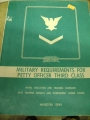 Military Requirements for Petty Officer Third Class