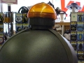 German Military Helmet Light - runs off 2 'C' Batteries - J153