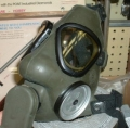 Swedish Gas Mask w/ Carrying Bag - M7