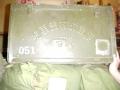 Vintage Chinese Military Vehicle Storage Box